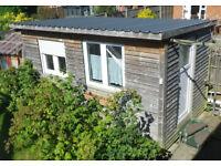 "Garden Room, Garden Office 4"" studwork fully insulated & double glazed 8'x16'"