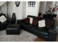 2+3 Seater Sofa + Footstool
