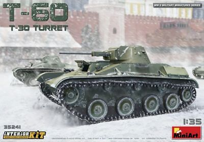 MINIART #35241 T-60 (w/T-30 Turret) Interior Kit in 1:35