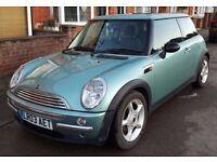 Mini Cooper in excellent condition. Recent MOT, superb value for money.