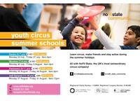 Children's circus summer activities