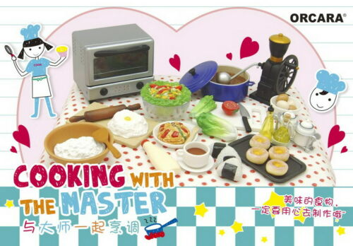 Orcara Miniature Cooking With Culinary Master Set re-ment size Full set of 8