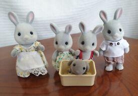 Sylvanian Families - Rabbit, Hedgehog, Squirrel families £5 EACH set