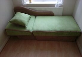 Single Sofa Bed With Storage