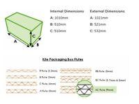 Heavy Duty Cardboard Boxes 1010x510x510cm