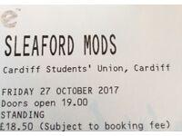 2 x Sleaford Mods tickets