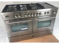 BRITANNIA DELPHI 120CM RANGE COOKER AS NEW RRP £5180