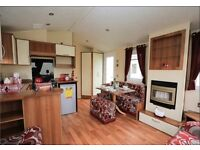 6 berth caravan for hire at Mablethorpes Haven site. Prices start from £125.