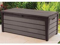 Plastic Garden Storage Box (New)