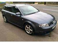 Audi a4 1.9 quattro s line 2004 190bhp.