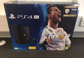 PlayStation 4 Pro + Game's and Turtle beach headset