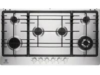 Electrolux, EGG9363NOX, 90cm Gas Hob In Stainless Steel