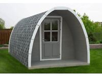 Garden pod, shed, kids play room, home ofice