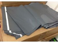 Grey Poly Mailer Bags 1,500 Units+
