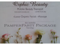 BEAUTY THERAPIST IN HEART OF STOCKBRIDGE - ORGANIC FACIALS/THREADING/TINTING/MASSAGE-SPECIAL OFFER!