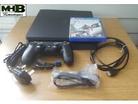 Sony Playstation 4 Slim, PS4 Slim, 500GB, with Assassin's Creed IV Black Flag