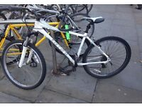 Bicycle for adults (Carrera) in very good condition with helmet, lock & pump.