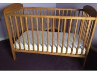 Mamas & Papas cot and Mattress