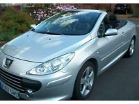 Peugeot 307 sport hdi cc coupe convertible diesel car