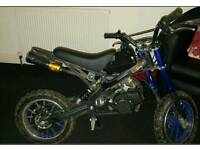 Used 50cc Mini Dirt Bike Orion KXD01 PRO