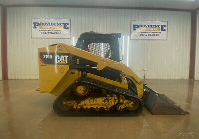 2014 Cat 279d Orops Track Loader Skid Steer With Manual Quick Attach