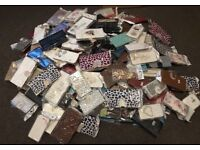 244 joblot of various NEW phone cases