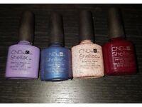 3/3 fall CND Shellac Colours