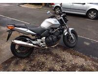 Honda cbf 600 motorbike first bike