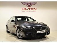 BMW 5 SERIES 2.0 520D M SPORT 4d AUTO 181 BHP (grey) 2012