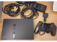 playstation 2/with over 10 games controllers and accessories
