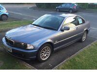 BMW 3 series 318ci, 2 door, DOUBLE DIN INCLUDED!