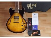 USA MIDTOWN STD with Gibson case and paperwork etc.