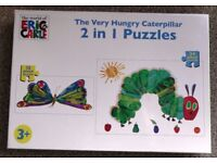 """""""The Very Hungry Caterpillar"""" 2-in-1 Puzzle for 3 years upwards - £5 o.n.o"""