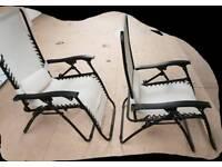 Reclining Sun Lounger / Deck Chair