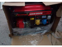 Neilson 6500 115V/230V two stroke petrol generator. Immaculate condition. never used, still boxed