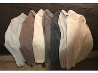 7 REISS Shirts for sale (M) - worn 2-3 times. Part of entire Wardrobe of designer menswear for sale
