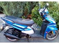 CAN DELIVER LOCALLY 2016 Learner Legal 50cc Moped TWIST & GO 49cc Scooter RELIABLE 4 STROKE 100MPG!
