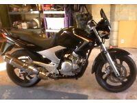 Yamaha YBR 250 good clean bike 90 plus mpg long mot