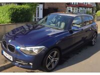 BMW 1 Series Sport **SAT NAV, PARKING SENSORS, DAB RADIO, HEATED LEATHER SEATS, SUNROOF, TINTED***
