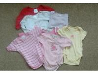 Baby girl's vests 0-3 months