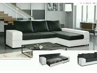 Corner sofa bed Amk Furniture, sofa bed with storage double bed