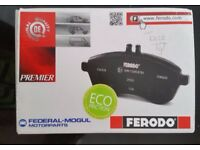 Genuine Ferodo Rear Brake Pads FDB778 HONDA JAZZ CIVIC IV, V, CONCERTO CRX III