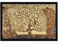 *Reduced* Large Framed Print - Tree Of Life, Gustav Klimpt