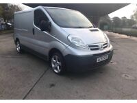 57 PLATE NISSAN PRIMASTAR CLEAN VAN, GREAT RUNNER, SIMILAR TO VAUXHALL VIVARO OR RENAULT TRAFIC