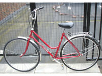 Beautiful Lightweight Dutch style 3 Speed Ladies bike, Serviced