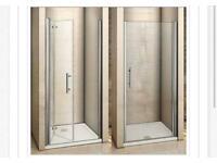 Bi-fold shower door brand new