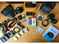 Canon 600D 18.0MP Digital SLR with Kit Lens and Sigma 17-50mm f2.8 Ex DC OS Lens