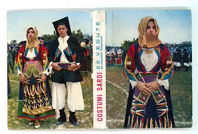 COSTUMI SARDI 20 VEDUTE A COLORI SOUVENIR DA FOTOCOLOR KODAK EKTACROME ANNI '70