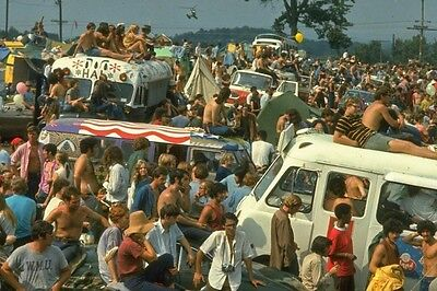 Woodstock 1969 (2) 4x6 Photos The People
