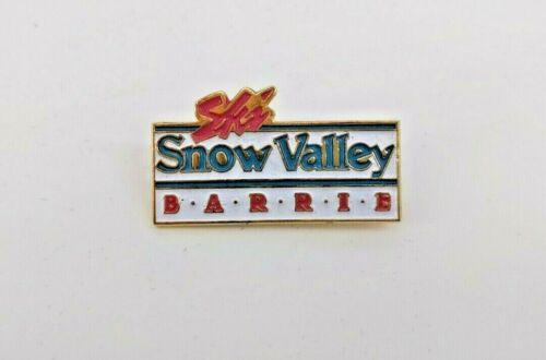 Ski Snow Valley Barre Ontario Pin Skiing Badge Resort Souvenir Travel Lapel